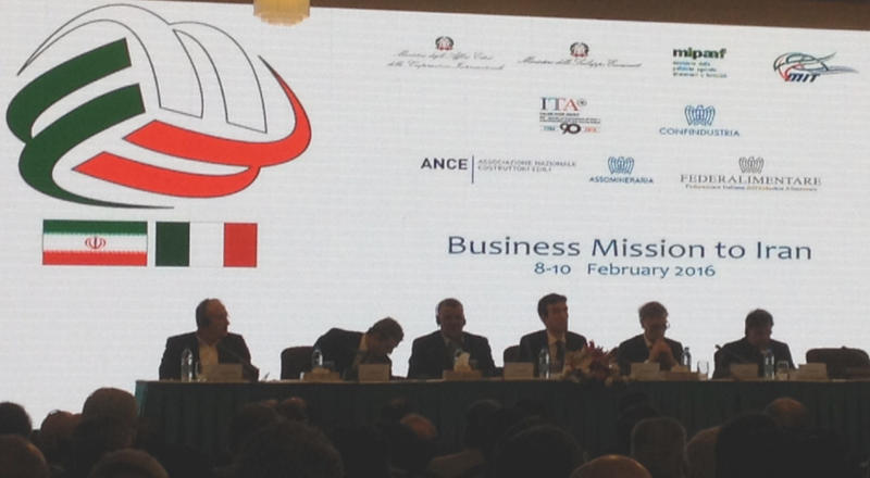 Italian Business Mission to Iran