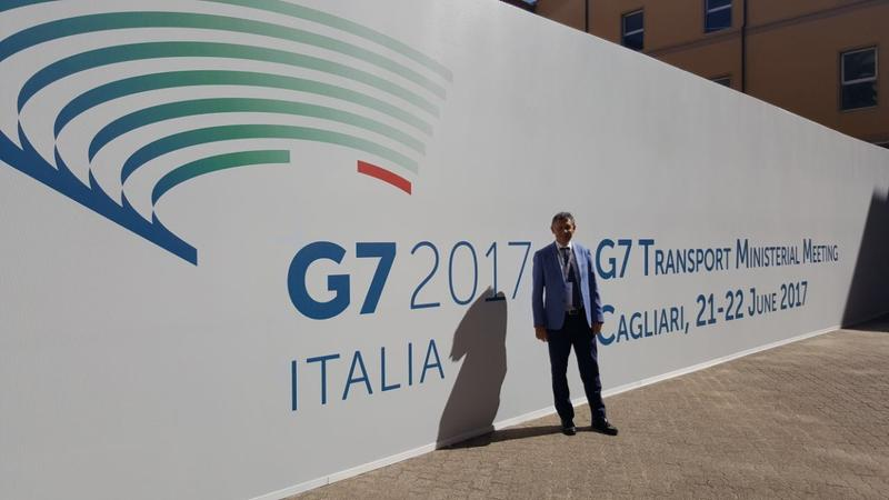 Eng. Ventura at G7 Transport Side Event in Cagliari